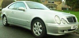 Mercedes CLK 200 K Auto Petrol 2002