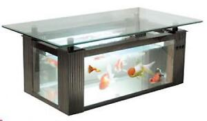 coffe table fish tank