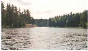 196 acres on Keith Lake unorganized township NE of Kirkland lake