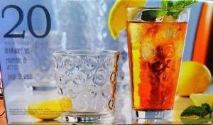 Sisecam 20PC Drinkware Set