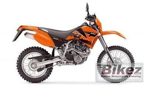 WTB KTM625sxc Banksia Grove Wanneroo Area Preview