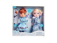 Elsa & Anna NEW Olaf's Frozen Adventure Singing