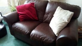 3 seater, 2 seater and an arm chair for sale