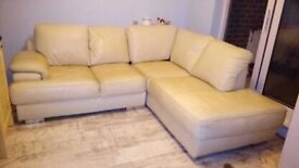 Corner Sofa with matching 2 Seater