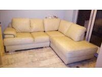 Corner Sofa with matching 2 Seater