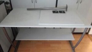 For Sale: Modern Large Office Desk and a Matching Bookshelf