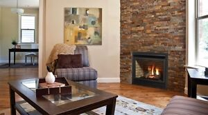FIREPLACE MAKEOVER   by stone veneer      $ 499 ..