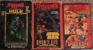 Marvel & DC Novels - Spider-Man / X-Men / Batman - $5 each
