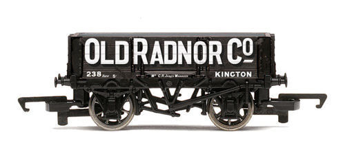 "Hornby :-  R6662   4 PLANK OPEN WAGON "" Old Radnor ""  Brand New & Boxed"