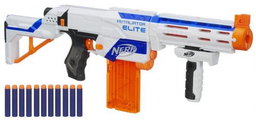 Hasbro Nerf 98696EU4 - N-Strike Elite Retaliator, Spielzeugblaster