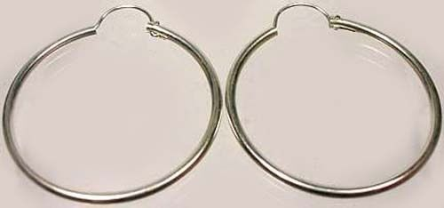 Quality USA Sterling 25mm Top Wire Hoops Ancient Rome Coins Army Propaganda News