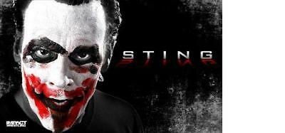 Official TNA Impact Wrestling Sting 3 x 5 Banner