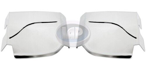 VW Beetle Bug Stainless Steel Gravel Guards Rear Fender (SOLD AS A PAIR) 50-77