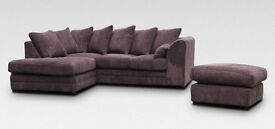 *DYLAN JUMBO CORD CORNER OR 3+2 SEATER AVAILABLE*EXPRESS DELIVERY*MADE IN UK*
