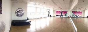 Dance Studio space for hourly rent in West Island