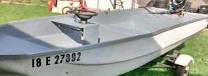 14ft Cadorette MK-14 with 1968 35hp Merc & Trailer -Fisherman