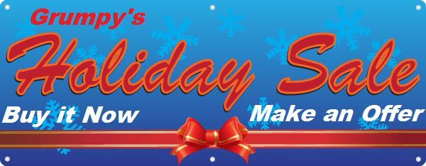 Grumpy's Holiday Extravaganza!!!