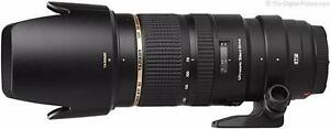 Tamron 70-200 f2.8 VC USD for Nikon