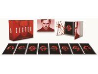 Dexter complete set box all seasons