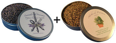 Herbes De Provence (Lavender + Herbes de Provence tin organic premium culinary cooking edible)