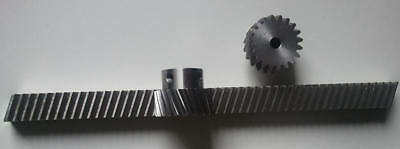 Helical Rack 2000mm79 22t Pinion Module 1.0 Cnc Kit Router Plasma Laser Mill