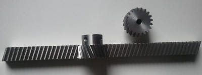 Helical Rack 1500mm59 26t Pinion Module 1.5 Cnc Kit Router Plasma Laser Mill