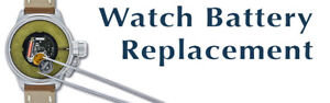 Watch battery replaced for any watch brand - Arnik