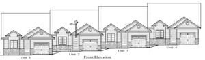 New Design Townhouse 1 Storey Starting at $229,900