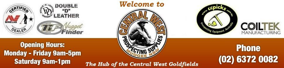Central West Prospecting Supplies