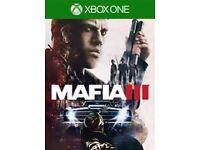 Mafia lll xbox one
