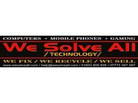 Mobile Phone * Computer * * Tablet * Gaming Console * PC * Repair Service * Free Parking