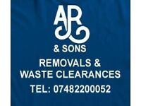 AR and sons Removals and waste clearances