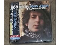 Bob Dylan - Cutting Edge ; Japan-only audiophile Blu-Spec 6-Disc Box Set , New and Sealed