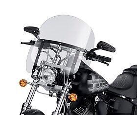 Harley Davidson Windshield and bag. Brand new!