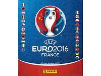 Euro 2016 stickers to swap