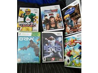 VARIOUS WII GAMES, 1 NEW & ALSO 1 NEW XBOX GAME, £1 EA, PEACEHAVEN