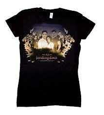 ★ TWILIGHT - Breaking Dawn 'Cast & Leaves' T-Shirt (S/M/L/XL/XXL) #NEW