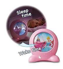 Disney Princess Cinderella Go Glow Clock