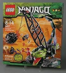 Lego Ninjago Fangpyre Wrecking Ball Set # 9457