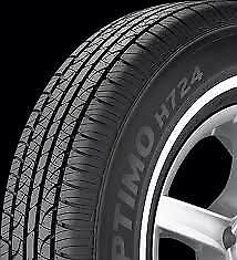 4 NEW 235/75-15 HANKOOK OPTIMO H724 WHITE WALL 75R R15 TIRES