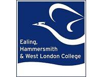 Receptionist - Ealing, Hammersmith & West London College
