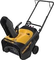 I looking for Gas Powered Snow Thrower 21""