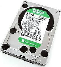 2TB WDC hard drive in perfect working order for sale X4