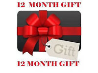 12 mnth gift lines 1 yr cable box vm nt skybox