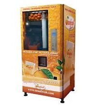 Freshly squeezed while you wait orange juice vending machines Castle Hill The Hills District Preview