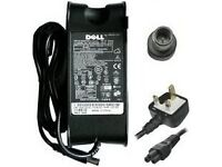 Original 90W Dell Adapter Charger (works with most Dell laptops) + Free Power Cord & Dell Win 7 DVD!
