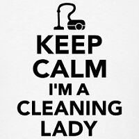 The Cleaning Lady - Taking clients!!