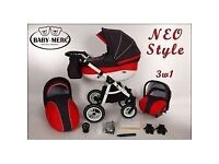 Baby Merc faster style pram with all accessories Prams & Strollers in Southside