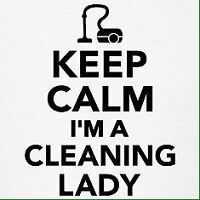 Cleaning lady in Toronto