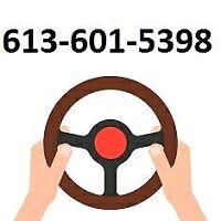 Door to door driving lessons by MTO certified instructor